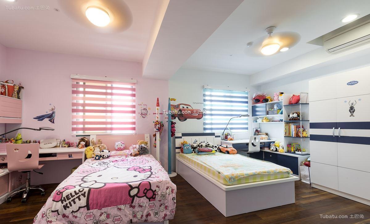 家居现代格调儿童房装修