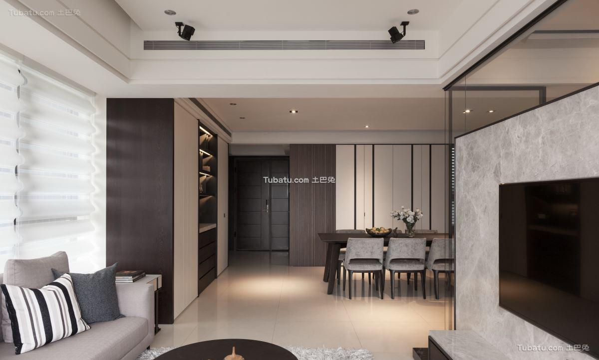 家居日式三居装修图