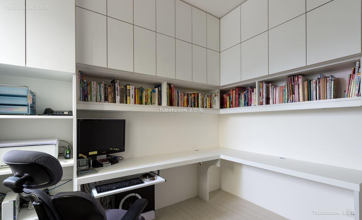 家居现代格调书房装修图