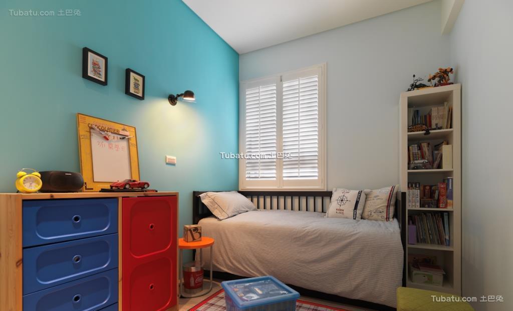 家居美式格调儿童房装修图
