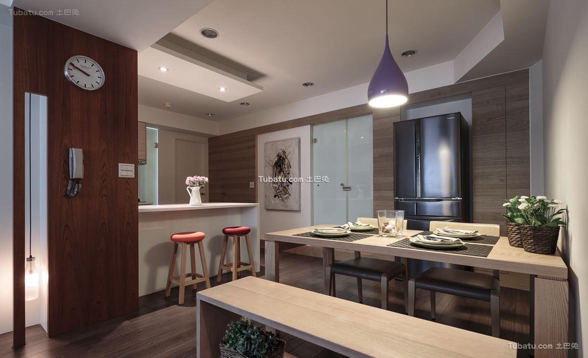 家居北欧格调餐厅设计