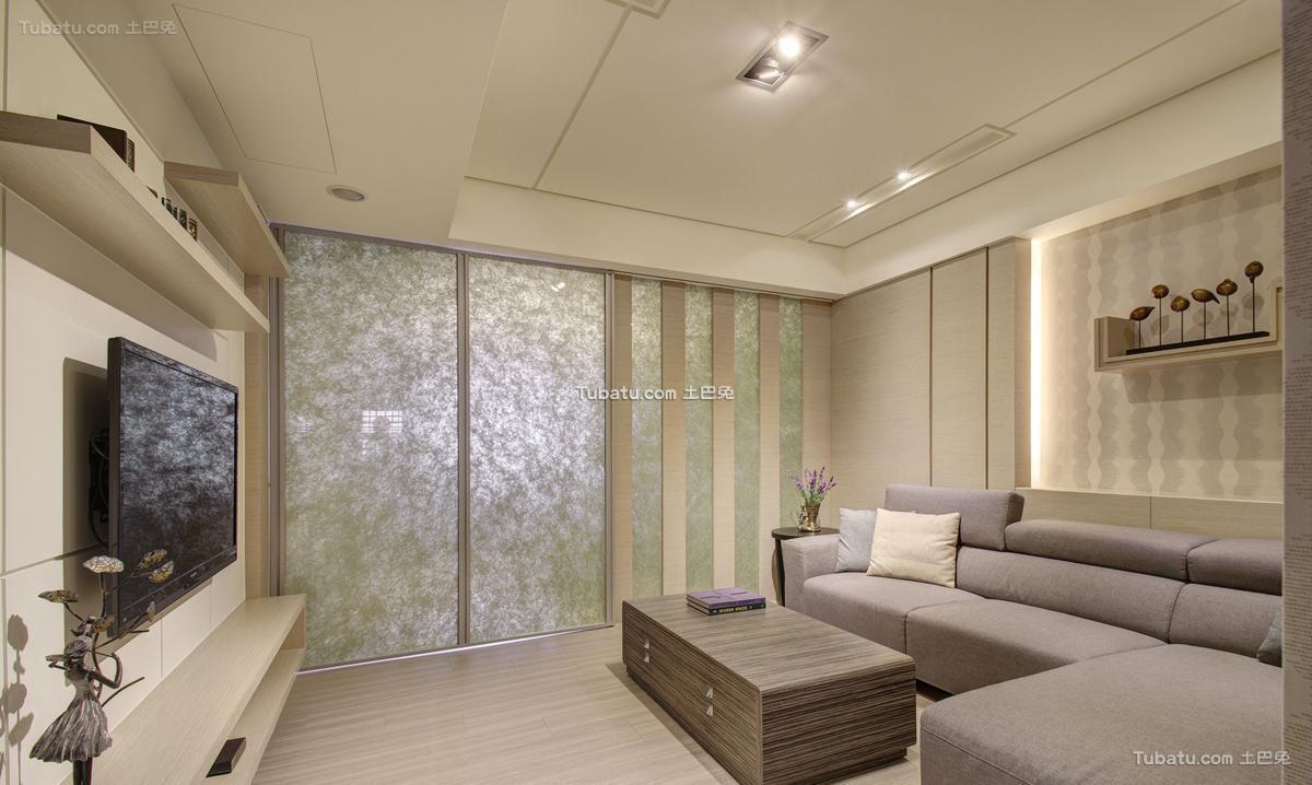 时尚风现代客厅装修图
