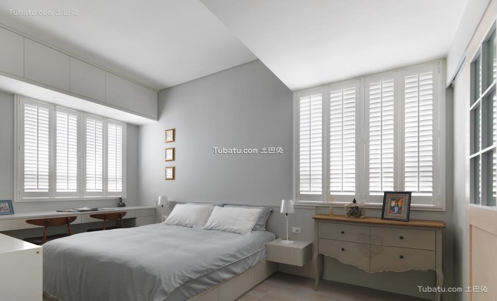 家居美式格调卧室装修图