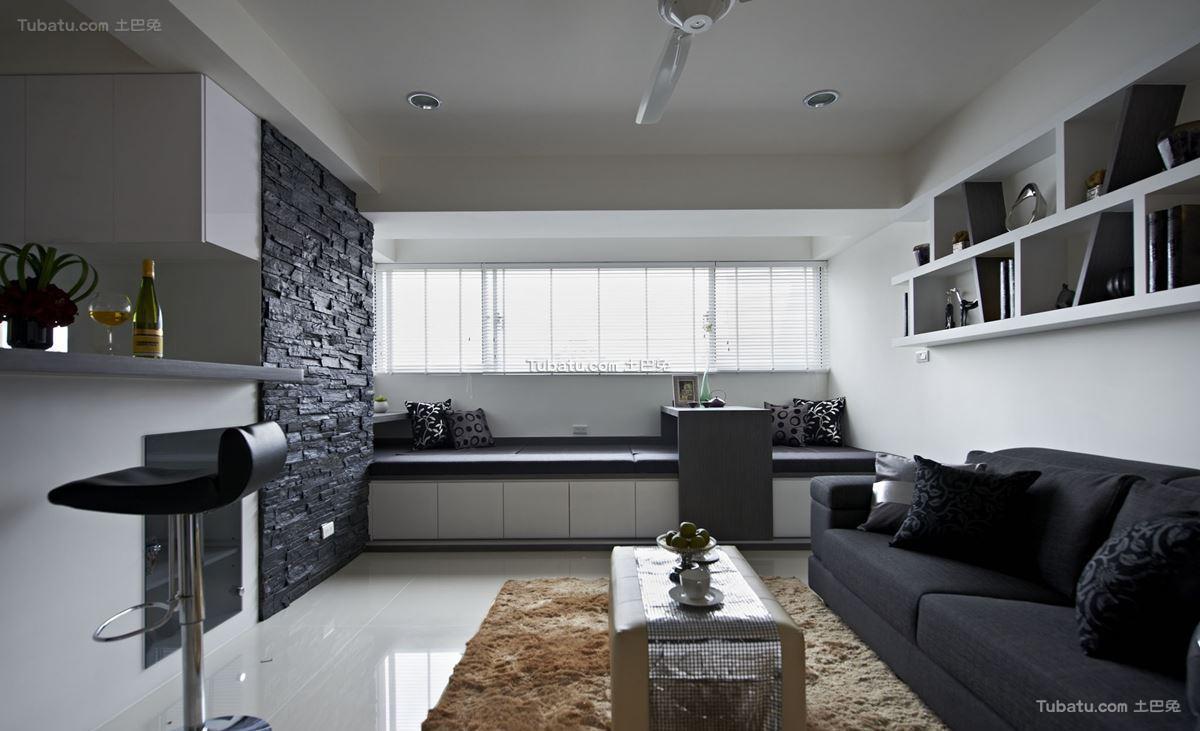 现代风家装客厅设计图