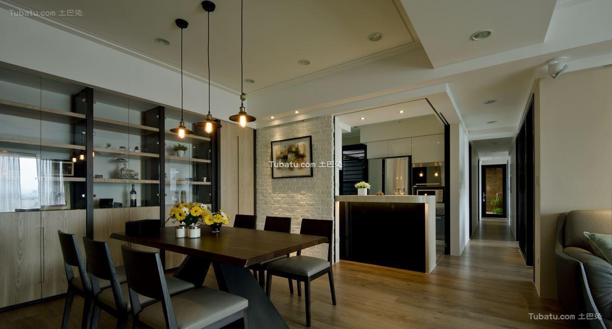 时尚现代家装餐桌设计