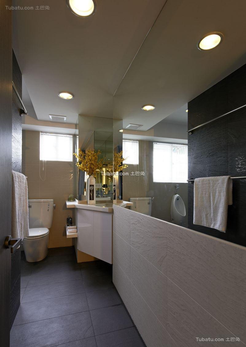 现代风家装卫生间设计