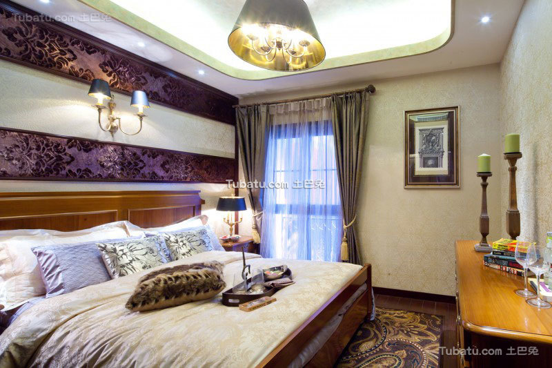 家居东南亚风格卧室设计