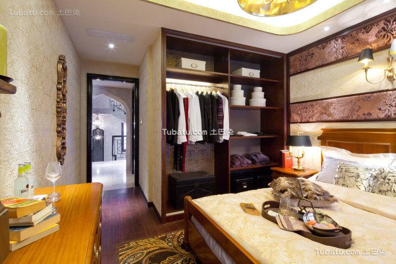 家居东南亚风格衣柜设计