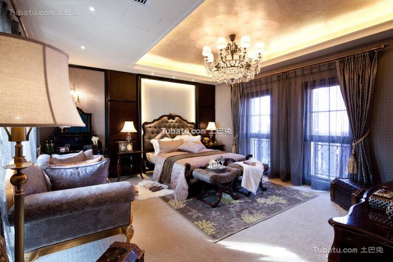 家居东南亚格调卧室效果图