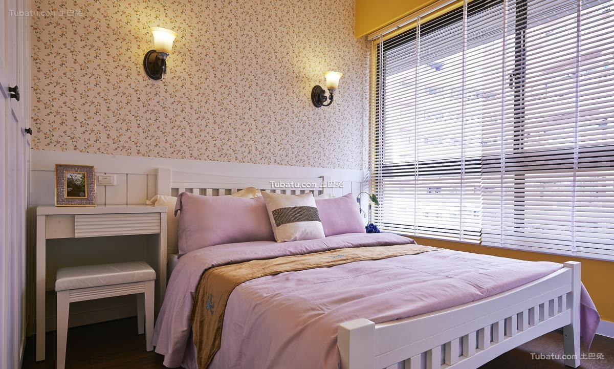 田园时尚风卧室设计图