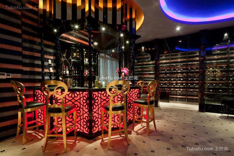 家居东南亚风格吧台设计