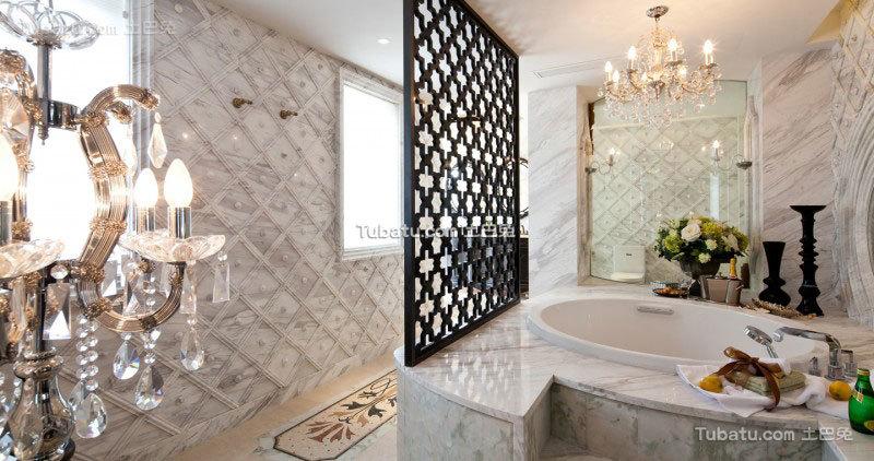 家居东南亚风格卫生间设计