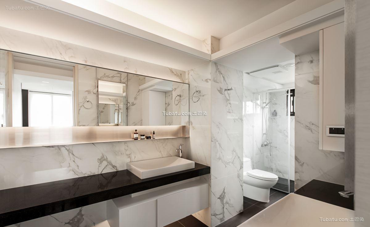 家装简约风卫浴设计