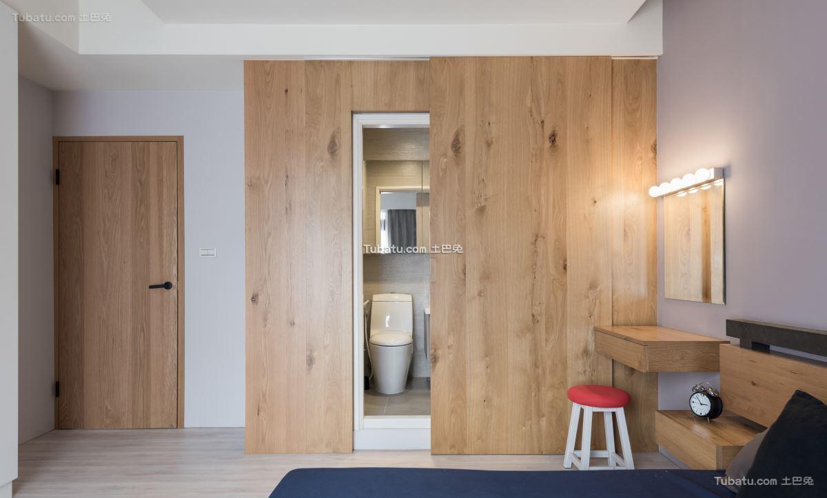 家装简单风衣柜设计