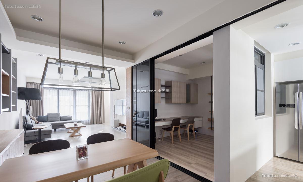 家装简单风书房设计