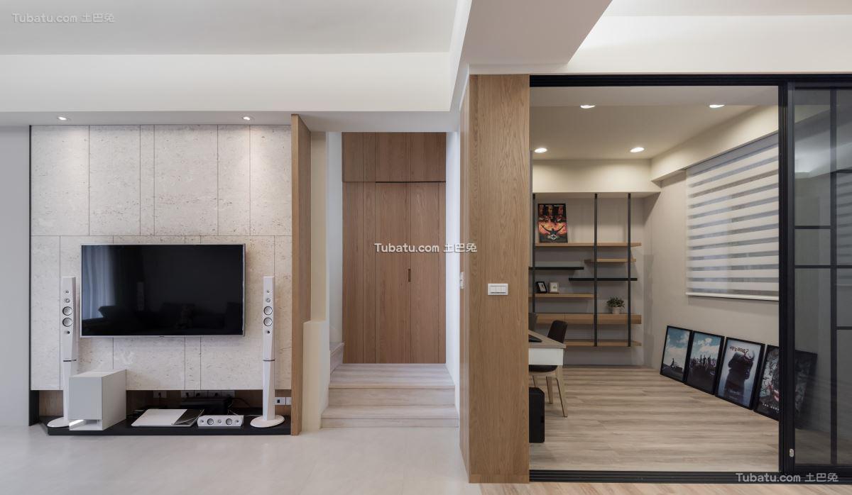 家装简单风玄关设计