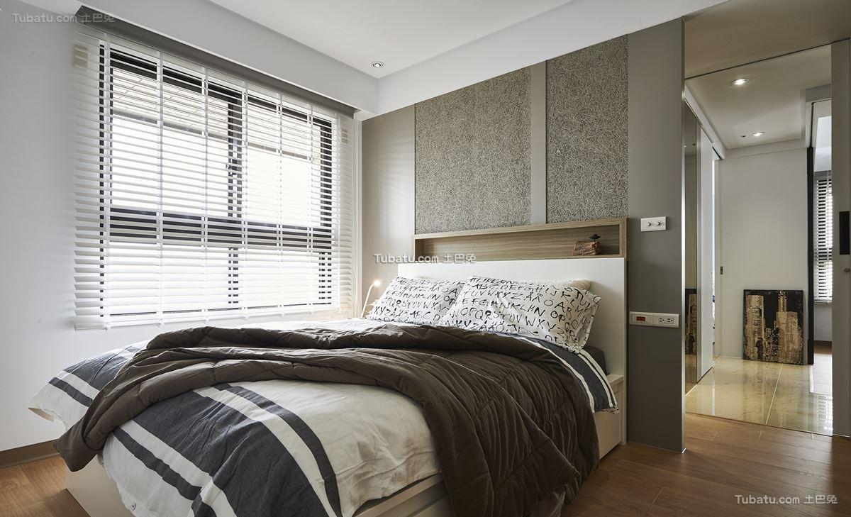 家装时尚北欧卧室设计图