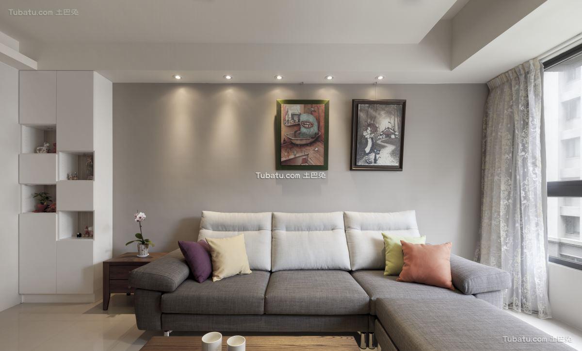 简约家装格调客厅设计图