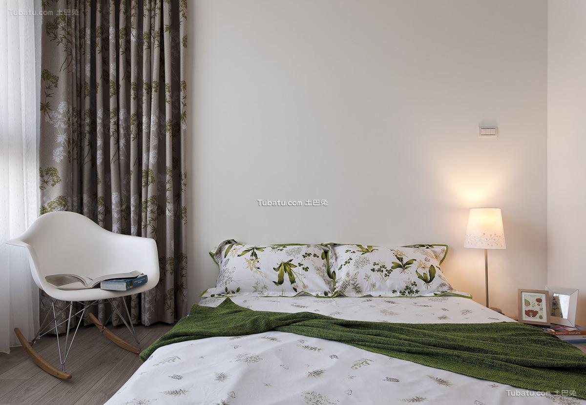 现代北欧风格卧室设计图