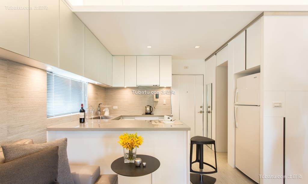 时尚现代家装风厨房设计