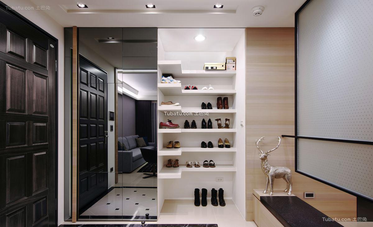 现代家居风鞋柜效果图