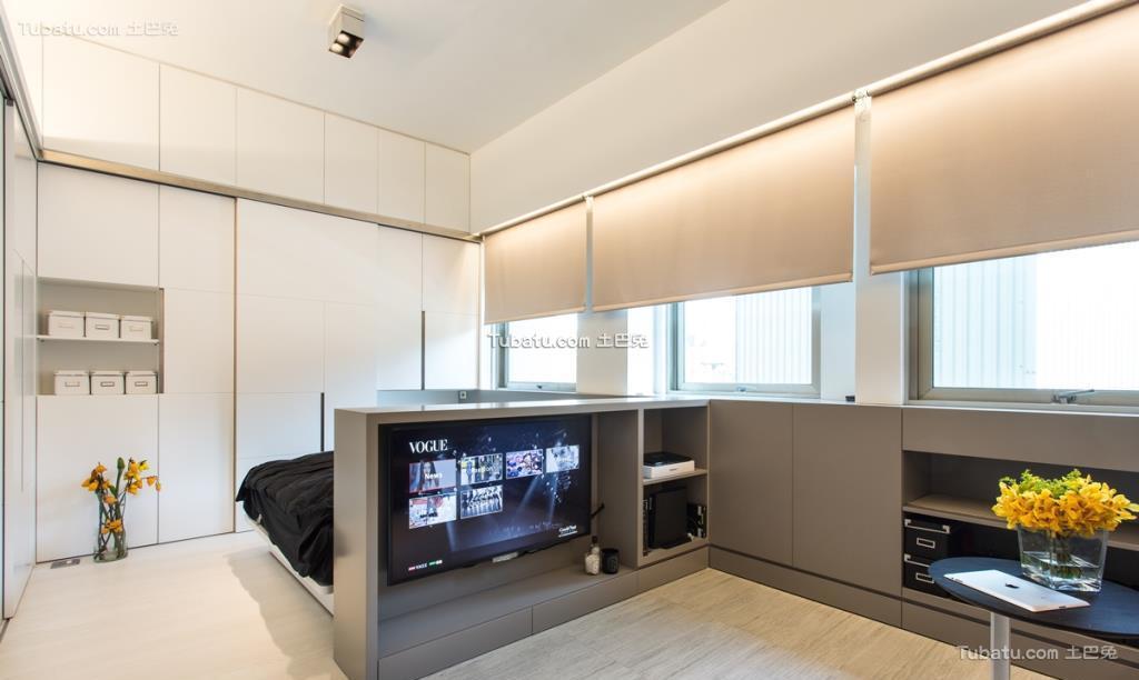 时尚现代家装风背景墙设计