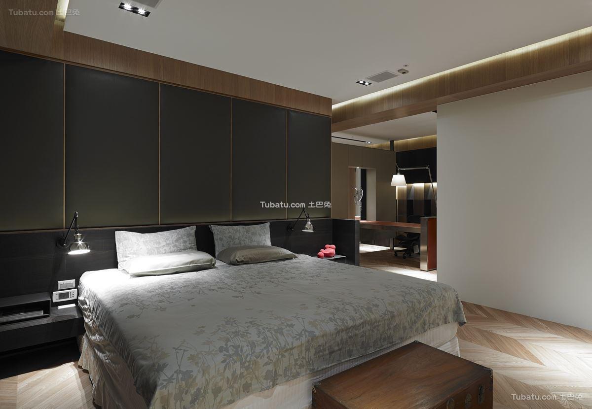 现代家装时尚风卧室设计