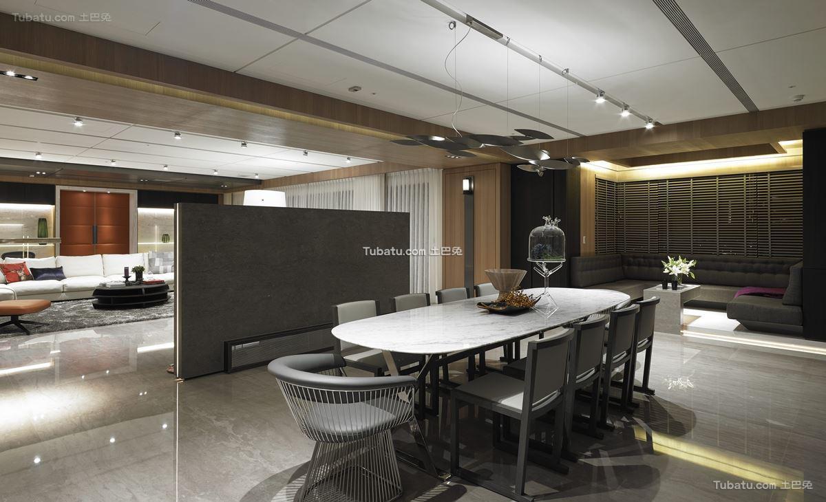 现代家装时尚风餐厅设计