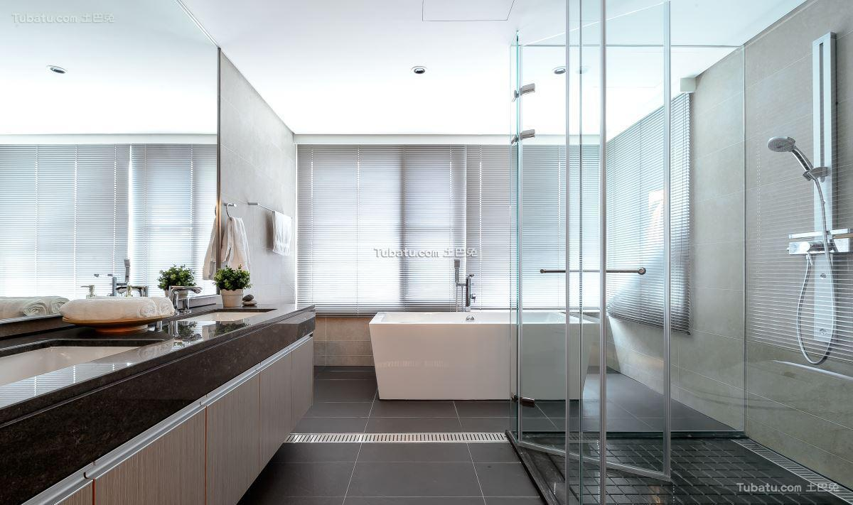 简约风居家卫浴设计