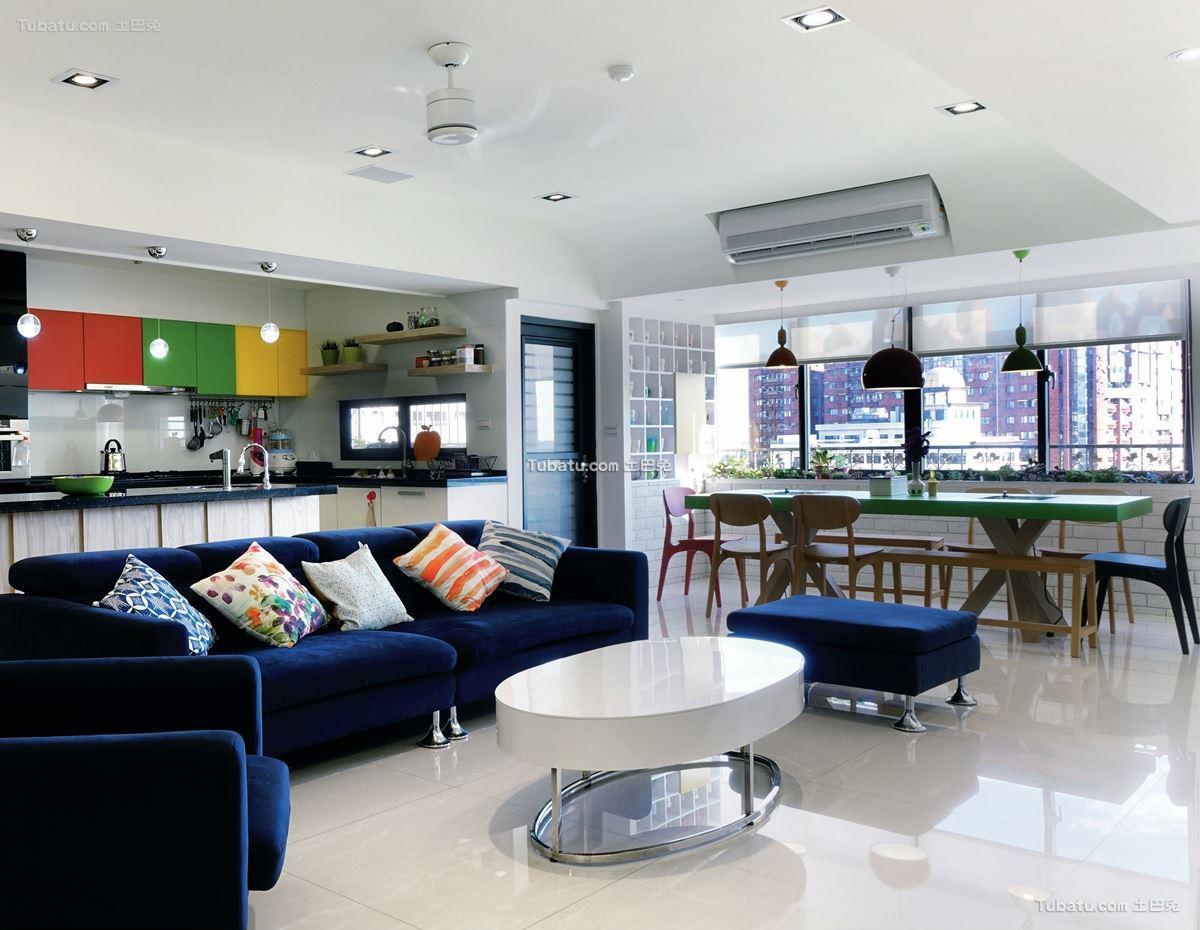 北欧时尚家装客厅设计