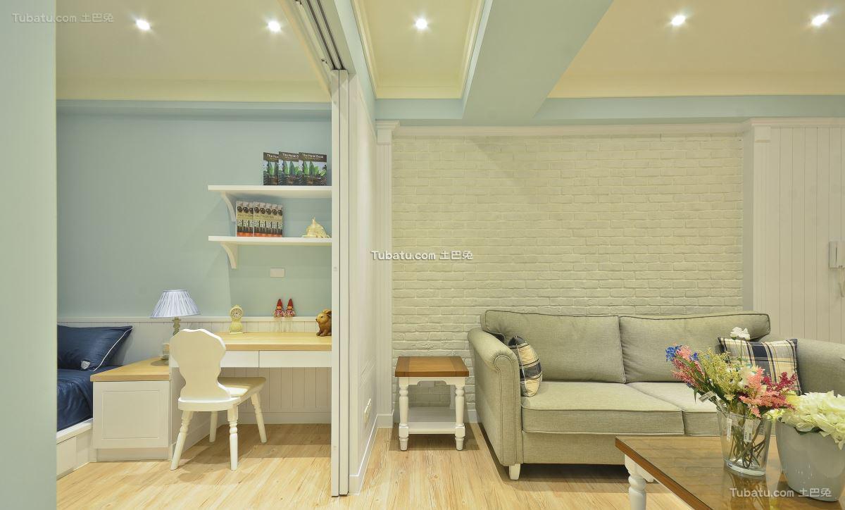 美式风家居客厅