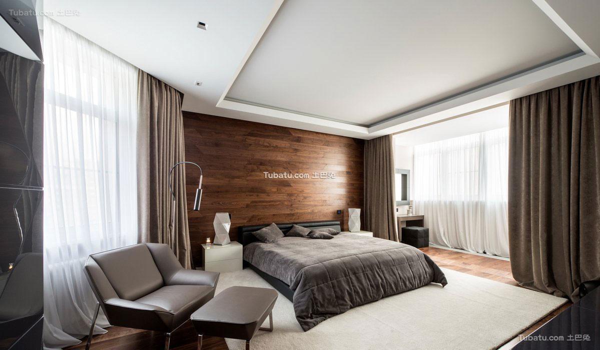 现代时尚家居卧室设计图