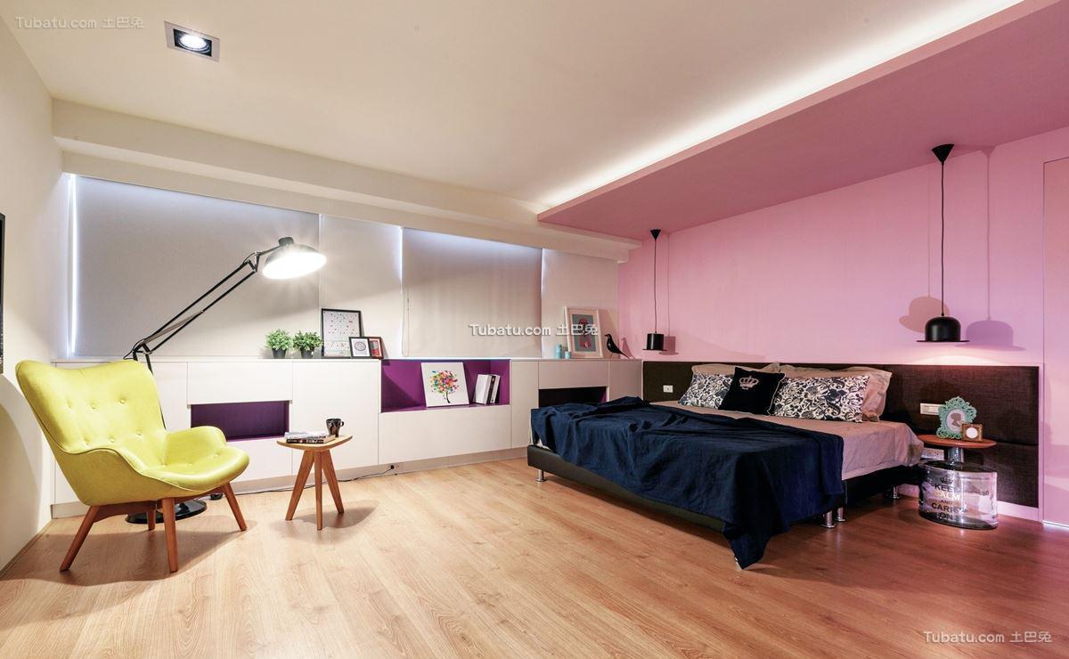 北欧时尚家装卧室设计
