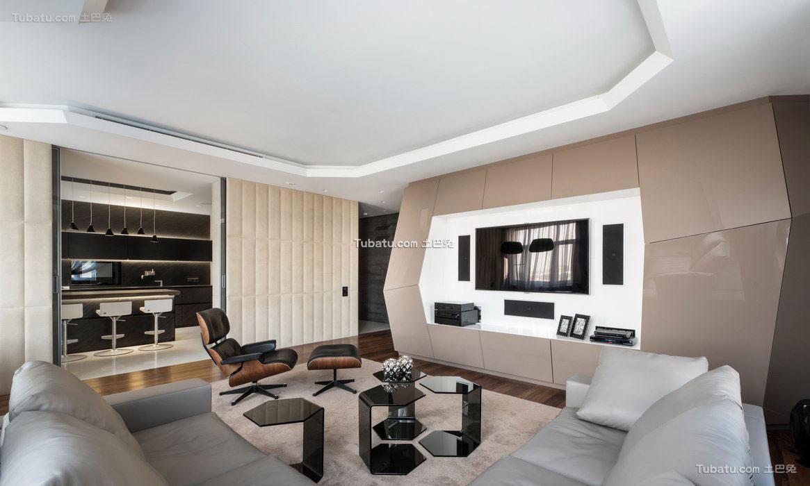 现代时尚家装客厅设计
