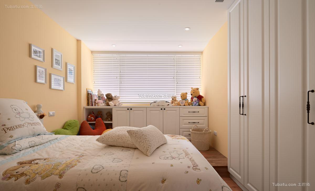 美式时尚格调卧室装修图