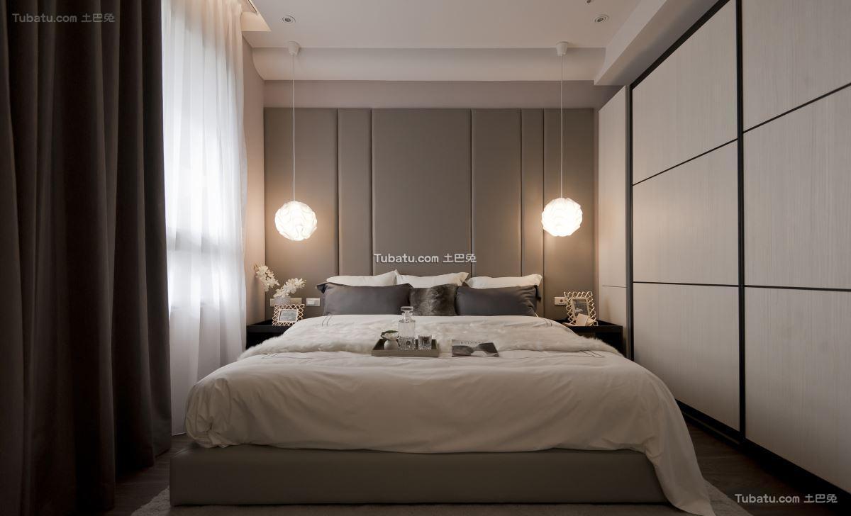 三居卧室效果图