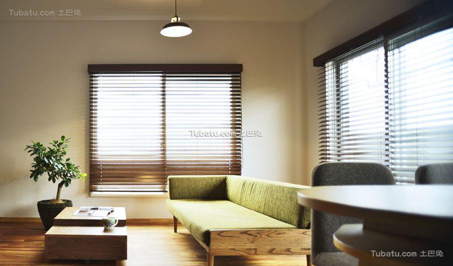 日式时尚格调客厅设计