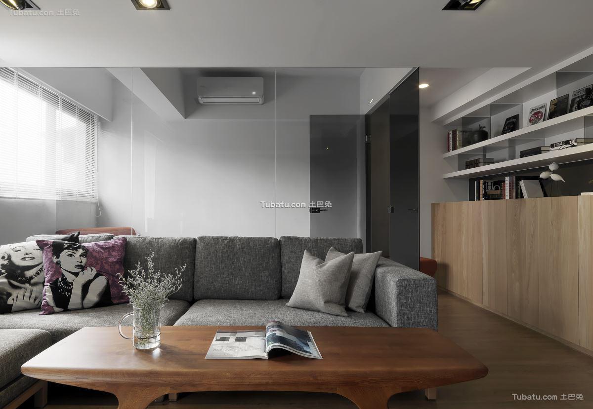 现代时尚格调客厅设计图