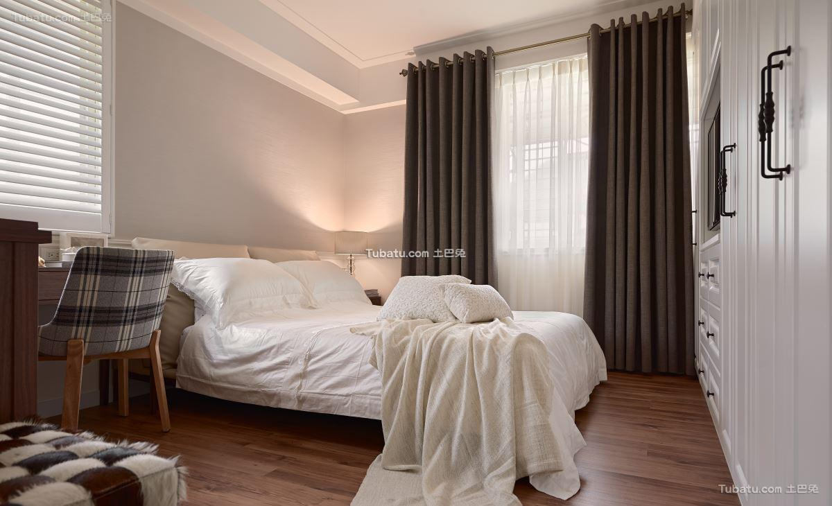 美式时尚格调卧室设计图