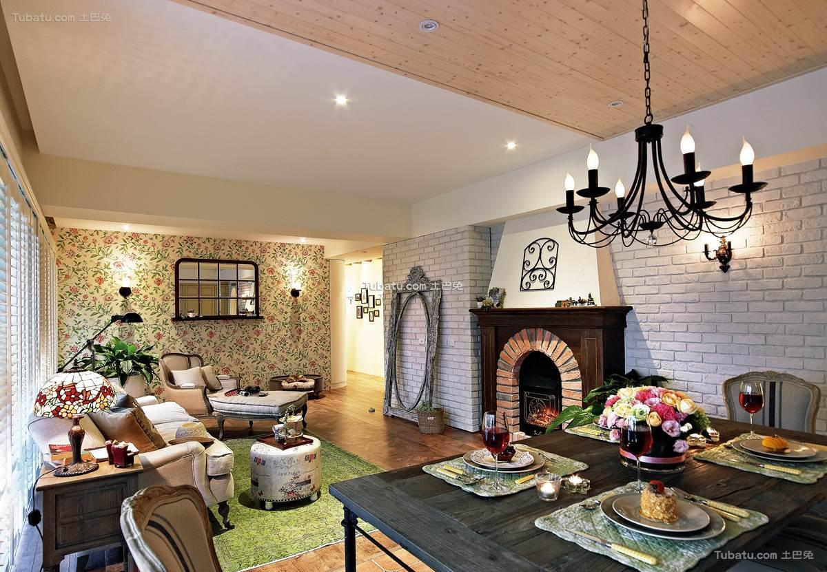 家居美式格调二居装修