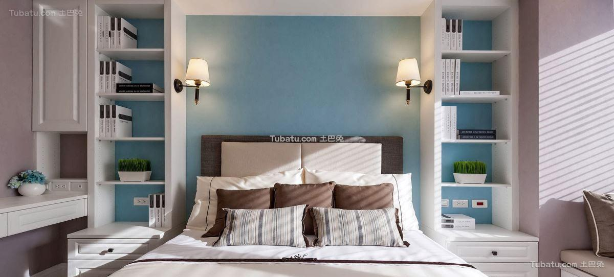 美式格调卧室设计图