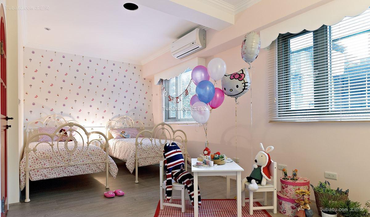 家居美式格调儿童房装修