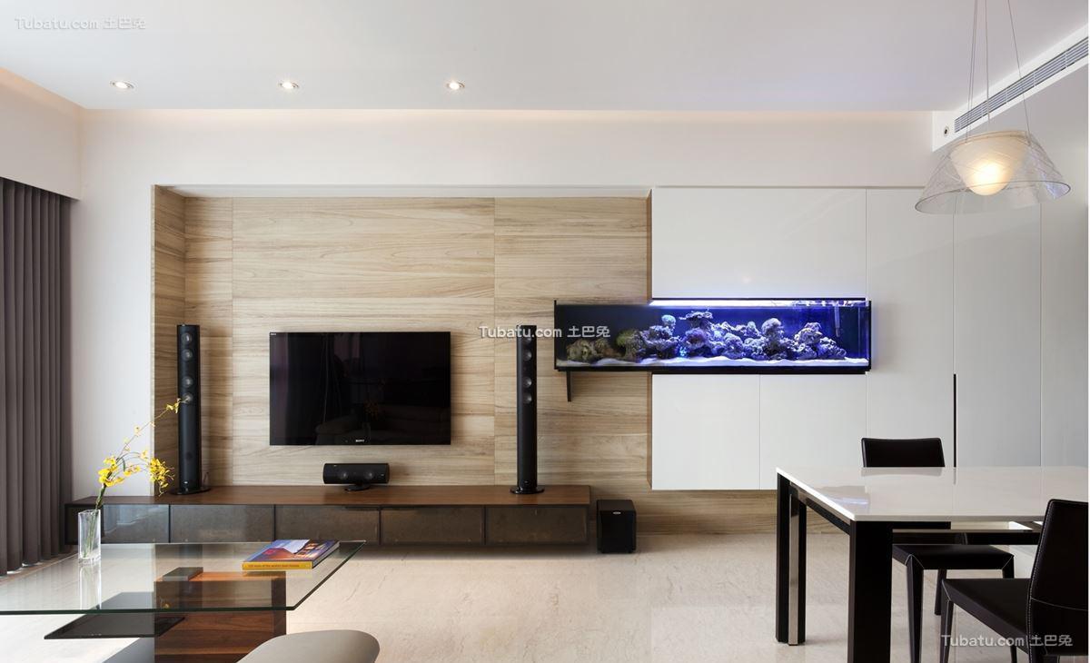 家居现代风格背景墙装修