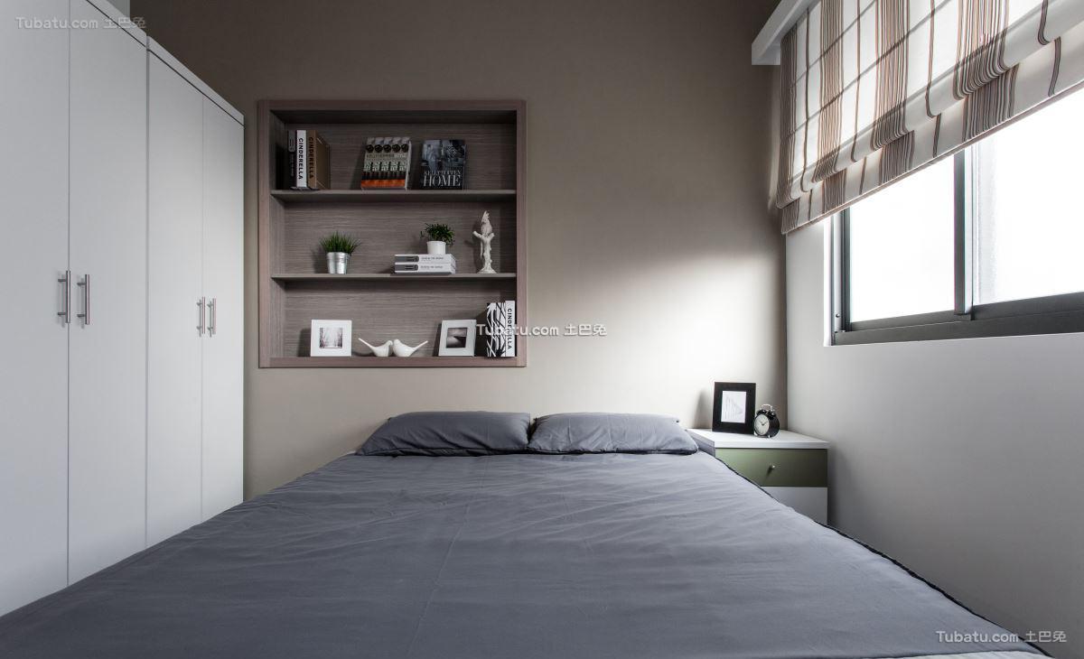现代风情卧室效果图装修