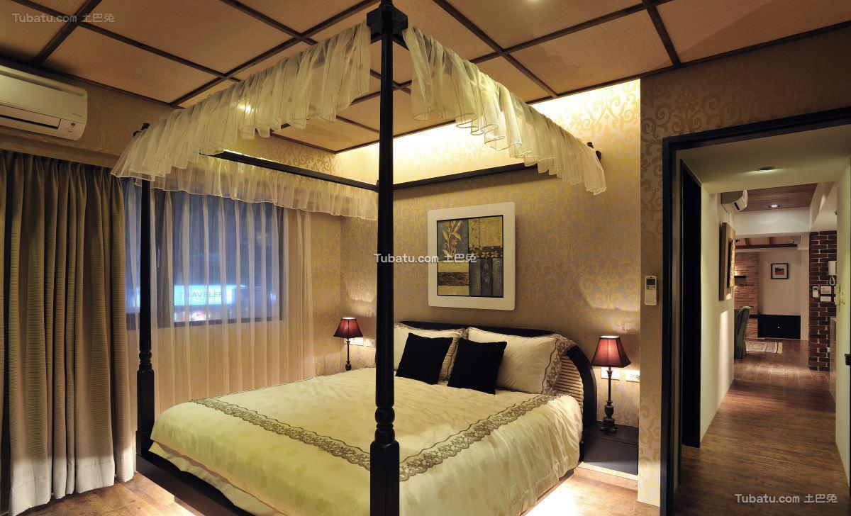 美式家居卧室装修图