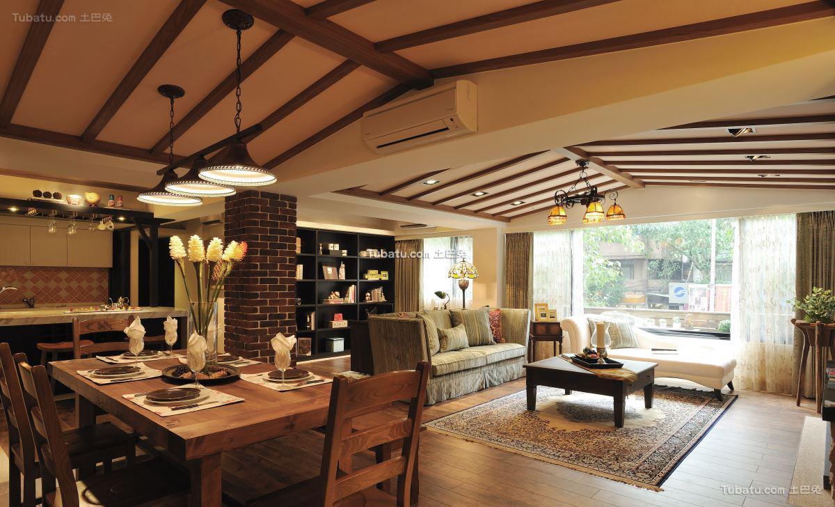 美式家居吊顶设计图