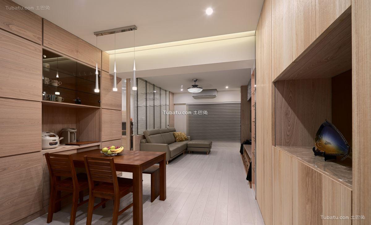 中式家居风四居设计
