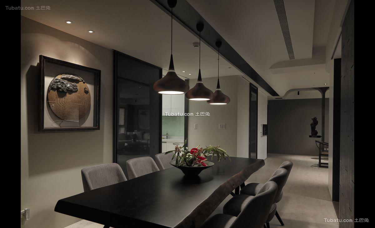 简约典雅格调餐厅设计