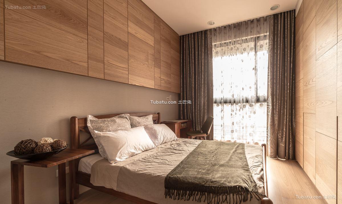 日式温馨格调卧室设计