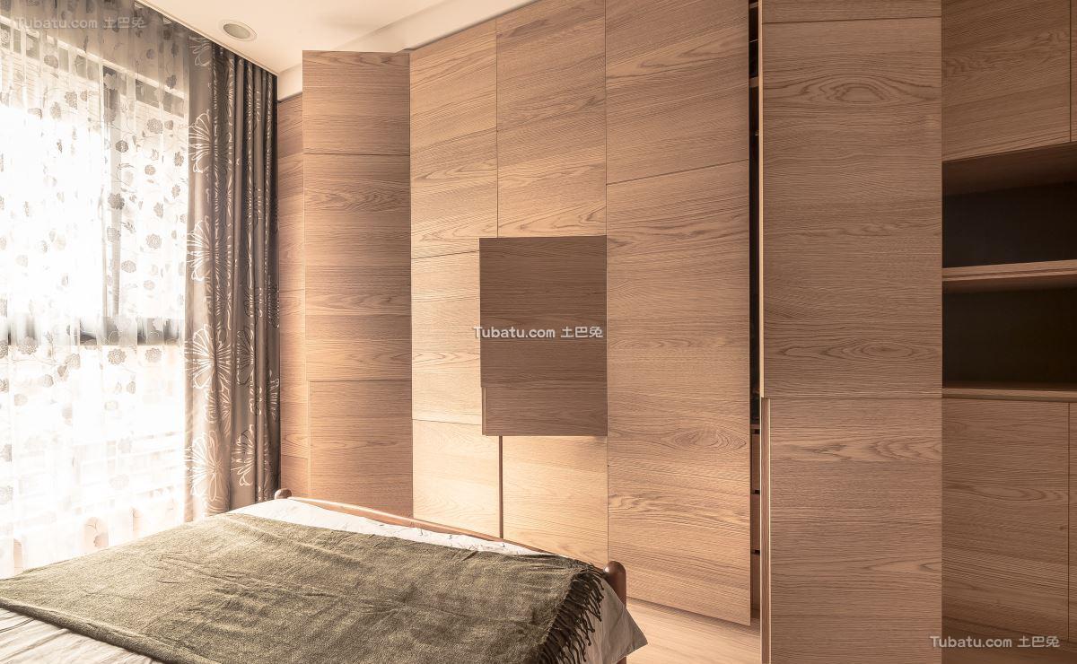 日式温馨格调衣柜设计